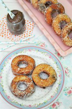 OBSESIÓN CUPCAKE: Cronuts rellenos de crema chocolate y avellanas