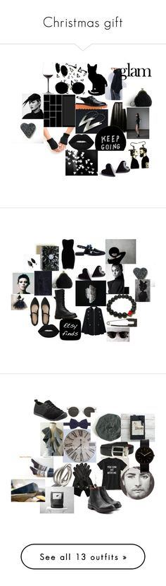 """""""Christmas gift"""" by talma-vardi ❤ liked on Polyvore featuring Nika, Miu Miu, STELLA McCARTNEY, Rochas, Naeem Khan, Riedel, Lime Crime, Vivienne Westwood, Mother of Pearl and River Island"""
