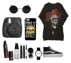 """""""Untitled #258"""" by nirvana2014 on Polyvore featuring R13, Vans, Bobbi Brown Cosmetics and Fujifilm"""