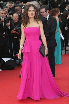 Salma Hayek Saint Laurent Cannes 2014
