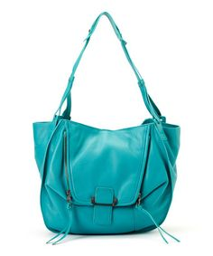 Another great find on  zulily! Teal Zoey Leather Shoulder Bag by Kooba   zulilyfinds ad21f9655b