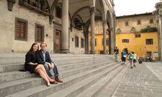 Piazza della Santissima Annunziata Photo Shoot by Mollie Pritchett Photography & Web Design.  www.molliepritchett.com