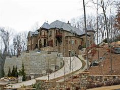 Mansion in north Georgia.  Pool, waterfall, outside kitchen, media, gym, wine cellar. Every bell and whistle. Elevator serves all 3 levels