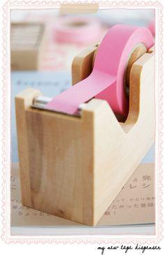 Pink Tape.     ...Washi tape?...