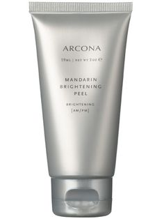 This Arcona Mandarin Brightening Peel tingles (no burning, promise) and makes skin look immediately brighter....