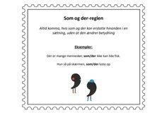 Komma_regler7_skh School, Kids, Inspiration, Grammar, Trier, Toddlers, Biblical Inspiration, Boys, Schools