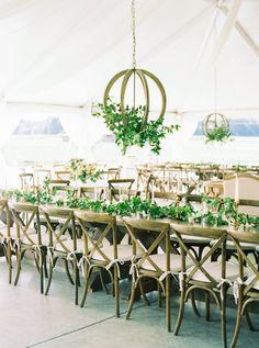 Rustic elegant tente
