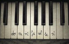 keys, music, notes, piano