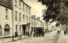 The Mall, Westport, Co. Mayo County Mayo, Old Postcards, Home And Away, Old Photos, Mall, Ireland, Around The Worlds, Street View, Old Pictures
