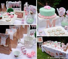 New Baby Shower Nena Shabby Chic 38 Ideas
