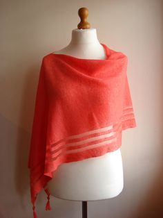 Check out this item in my Etsy shop https://www.etsy.com/uk/listing/290793101/linen-poncho-linen-shawl-linen-scarf