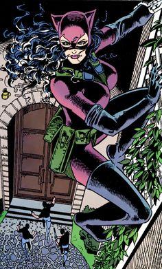 "Catwoman v2 #16 - ""Raining Cats"" by Jim Balent (pencil) & Bob Smith (ink)"