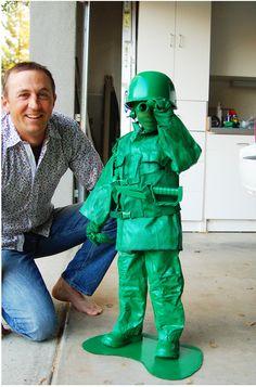 Semplice ma originale costume da: soldatino!