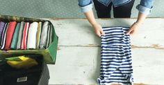 Kestokasseista taitellaan nyt säilytyskoreja. Näillä nikseillä saat vaatteet kaappiin tiiviisti ja siististi!