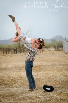 Country Dancing Engagement Shoot