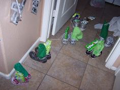 Fun ideas for those little leprechauns that come visiting on St. Patrick's Day!! :)