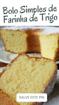 Cake Recipes, Dessert Recipes, Desserts, Cornbread, Vanilla Cake, Bakery, Yummy Food, Pasta, Diet