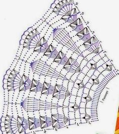 Discover thousands of images about Kira scheme crochet: collars Letayushaya_na_barse - Дневник Letayushaya_na_barse Crochet Patterns Skirt These are parts of the collar and you alone determine the length. This Pin was discovered by Sus Crochet Patt Crochet Cape, Crochet Skirts, Crochet Shawl, Crochet Clothes, Crochet Diagram, Filet Crochet, Crochet Motif, Crochet Doilies, Hand Crochet