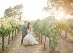 Photography: KT Merry Photography - ktmerry.com  Read More: http://www.stylemepretty.com/2014/10/14/soft-romantic-summer-winery-wedding/
