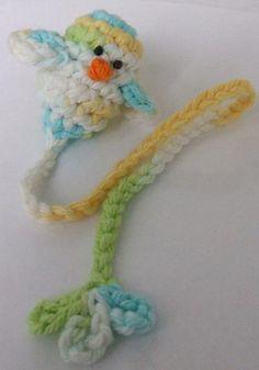 bird bookmark ~ so cute ~ free pattern