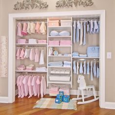 Reach-In Closet | Flickr - Photo Sharing! Reach-In Closet reach in closet save space hanging , storage, organization, functional, Expert Closets , Cape Cod, affordable , stylish , maximize , sweaters, dresses , pants , coats , scarves , gloves , easy access