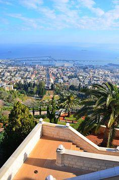 Haifa, Israel  - The Baháí Gardens