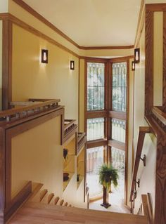 a kaleidoscope of light - the stair hall - Eclectic - Spaces - Chicago - Bud Dietrich, AIA