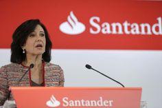 El Banco Santander gana 5.966 millones en 2015 un 3% más