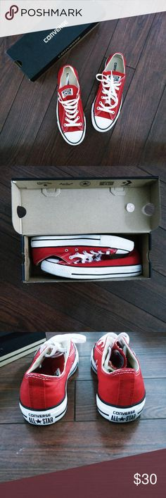 03572068a1f1 Red Chuck Taylor Converse The Converse Chuck Taylor All Star celebrates the  iconic original with classic