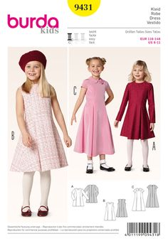 Purchase Burda 9431 Kids and read its pattern reviews. Find other Kids(boys & girls) sewing patterns.