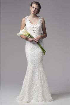 Bicici   Coty Bridal Lace Mermaid Wedding Dress 4ca536f57