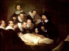 Рембрандт ван Рейн. Урок анатомии доктора Тульпа. 1640 г.