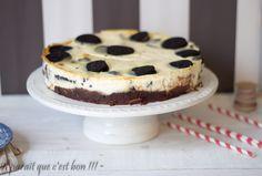 Cheesecake oréos base brownie