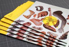 Les produits de l'épicerie / design graphique / Vivat la danse 2011 / Le Vivat