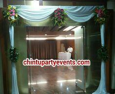Simple entrance decoration