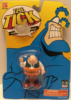 1994 Bandai The Tick Collectible Action Figure - Dyna-Mole This item is NOT in Mint Condition and is in no way being described as Mint or even Near Mint. Our toys have not always lead the perfect life Comic Book Heroes, Comic Books, Toy Corner, Cartoon Toys, 90s Nostalgia, Ticks, Mole, Vintage Toys, Spoon