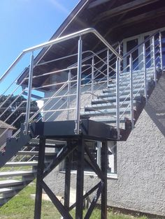 stainless railing Steel, Table, Outdoor, Furniture, Home Decor, Outdoors, Homemade Home Decor, Mesas, Home Furnishings