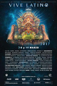 Festival Vive Latino 2017 18 y 19 de Marzo 2017 -... |