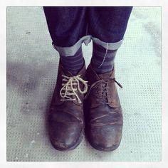 Long Johns by Oybō: 1 pair, 2 different socks.