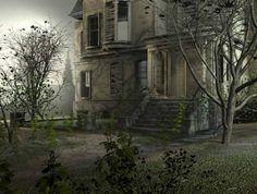 strašidelné domy - Hledat Googlem