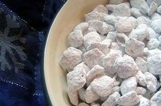 Puppy Chow or Monkey Munch from Food.com: Kids love this and it makes a lot. I got this recipe from a friend of mine.