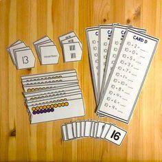 Montessori Teen Numbers by Montessorikiwi | Teachers Pay Teachers Montessori Math, Montessori Elementary, Montessori Materials, Elementary Math, Teen Numbers, Primary Resources, Hands On Activities, Public School