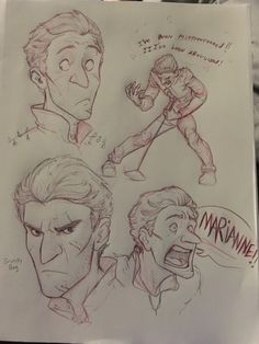 More Human Bog King doodles! Did these during my evening class ^u^ His face is refreshingly different to draw which is probably why I'm drawing him so much. Also, I kinda picture Bog as some sort of. Strange Magic Movie, Fanart, Fan Anime, Cartoon Man, Disney And More, Cool Animations, My Doodle, Art Challenge, Disney And Dreamworks
