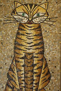 Mosaic Cat