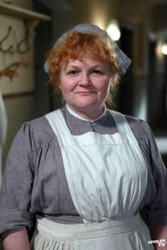 Mrs. Patmore, Cook - Lesley Nicol - Downton Abbey
