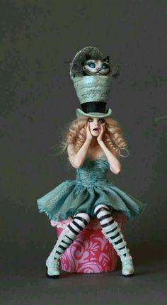 Sombrerero loco mujer