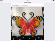 Sommerfugl M/ hamaperler