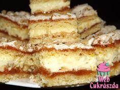Hungarian Desserts, Hungarian Cuisine, Hungarian Recipes, Baking Recipes, Cookie Recipes, Dessert Recipes, Peach Yogurt Cake, Austrian Recipes, Delicious Desserts