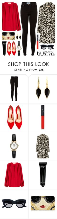"""""""60 Second Style"""" by lgb321 ❤ liked on Polyvore featuring New Look, Isabel Marant, Gianvito Rossi, NARS Cosmetics, Topshop, Burberry, Michael Kors, Bobbi Brown Cosmetics and Alice + Olivia"""
