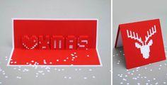 Risultati immagini per christmas card CREATIVE  TECHNOLOGY PIXEL